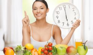 comer a tus horarios te beneficia