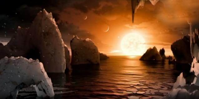 planetas alrededor de Trappist