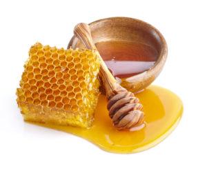 usa miel para quemaduras