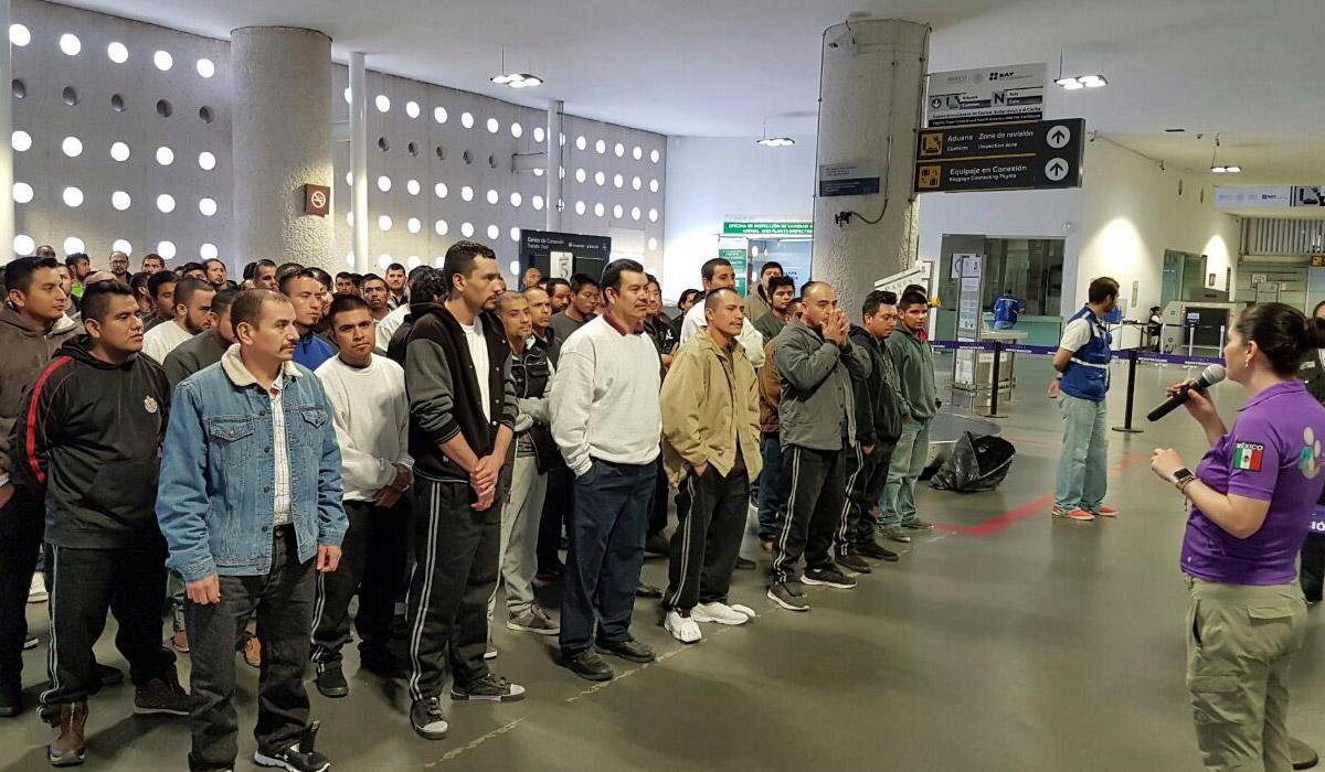 deportados llegan a México