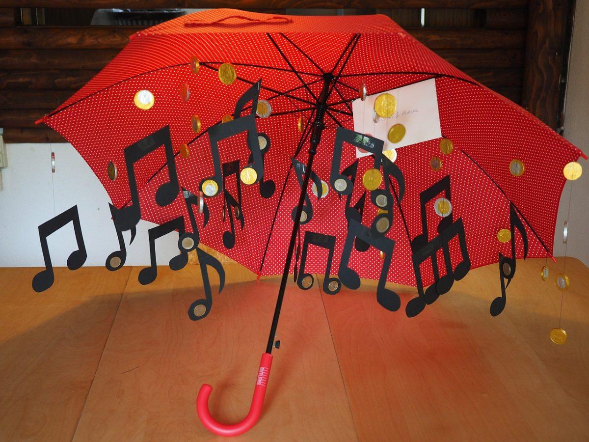 Canciones para disfrutar bajo la lluvia-sele