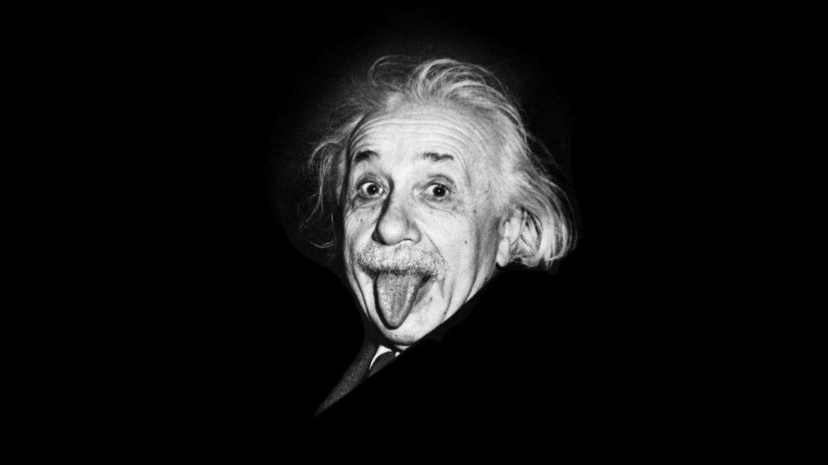 Detrás de la foto de Einstein con la lengua afuera