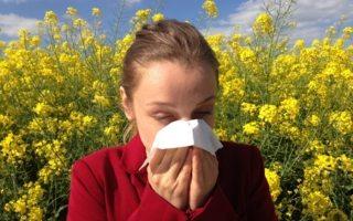 Esto podría causar las alergias