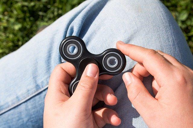Fidget Spinner no niños