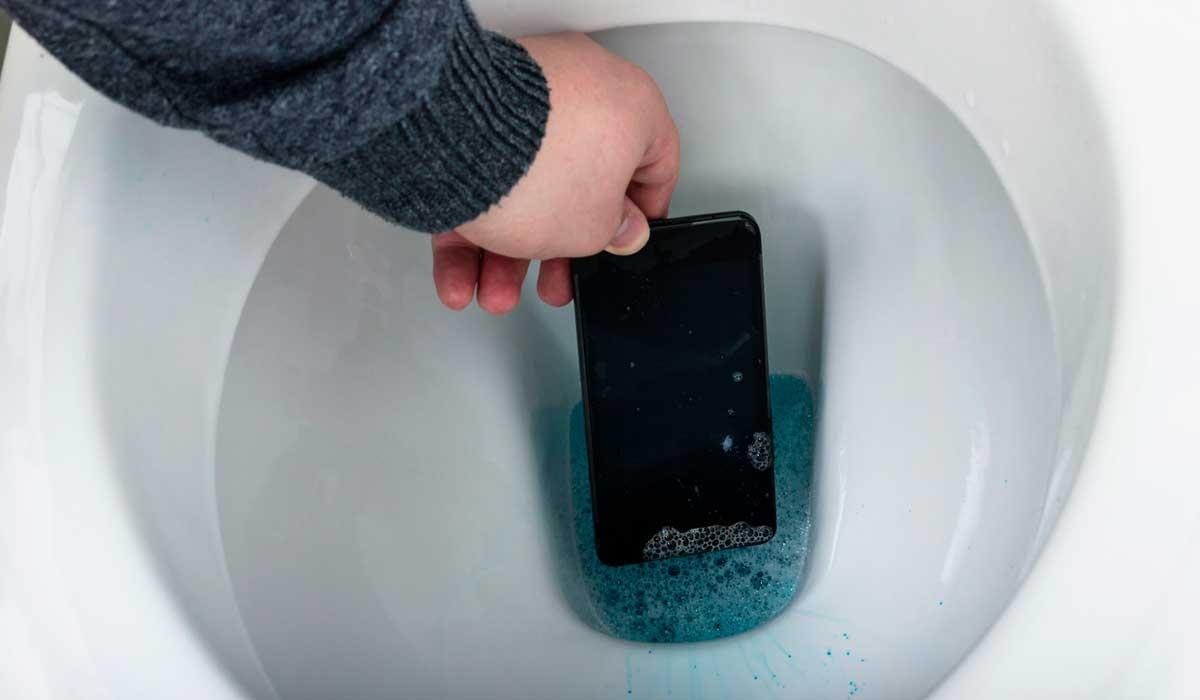 recupera tu teléfono mojado