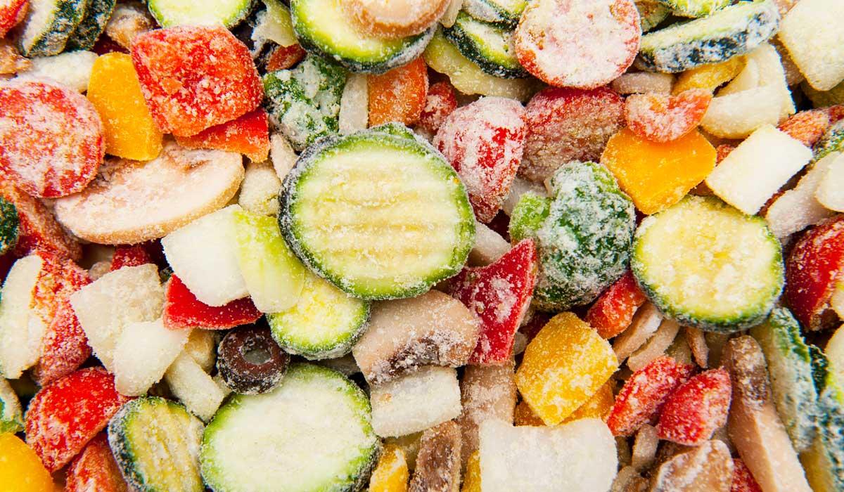 mitos de los alimentos congelados