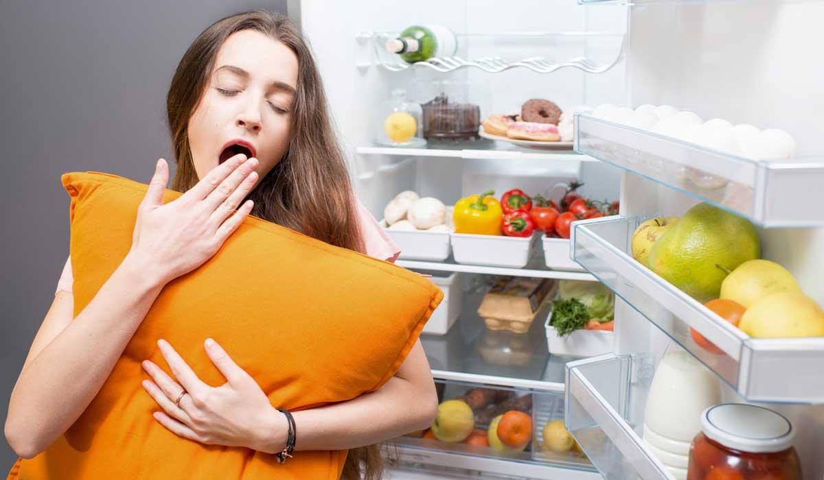 evita comer esto antes de dormir