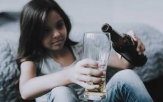 el alcohol y su relación con los hijos