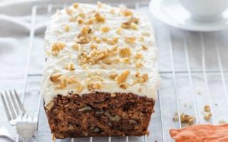 receta para hacer pastel de zanahoria