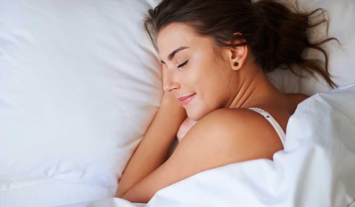 logra descansar y tener un buen sueño