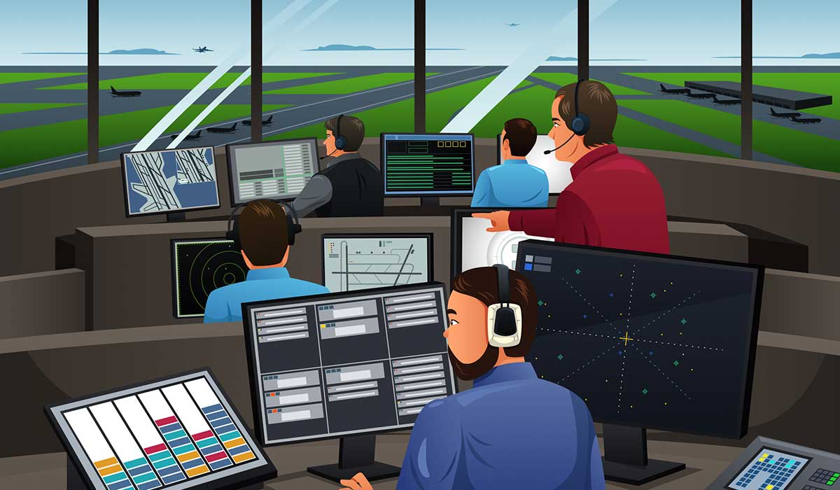 9 secretos que los controladores aéreos saben