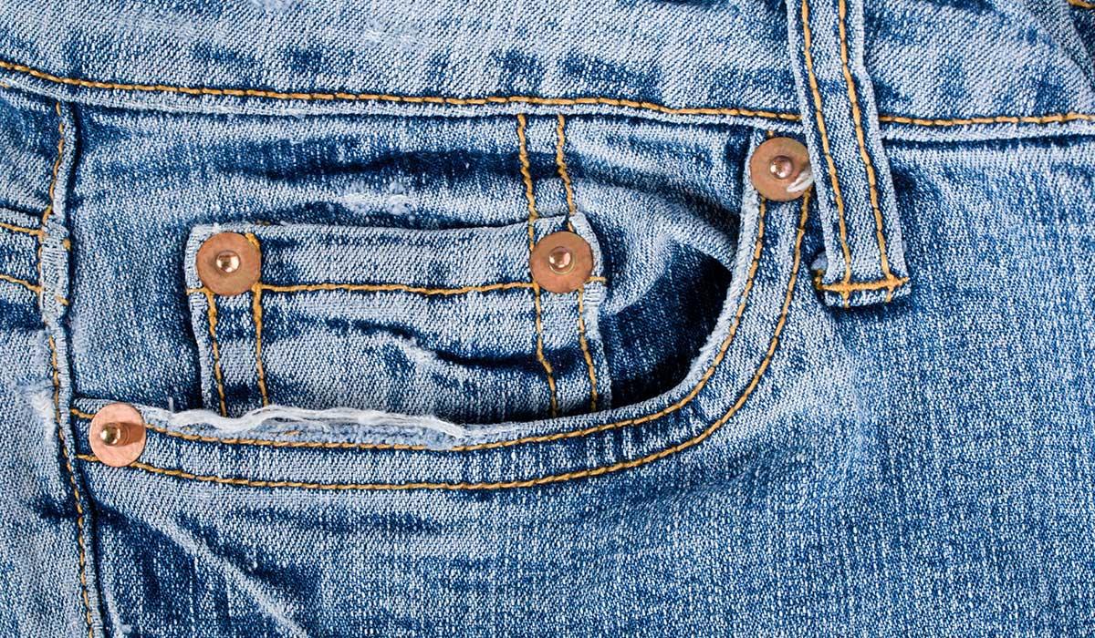 las bolsitas de los jeans