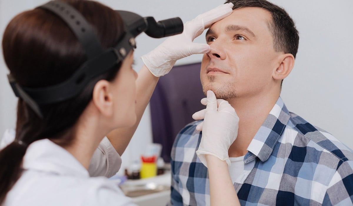 congestión nasal que se confunde con cáncer de nariz