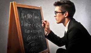 las matemáticas con importantes