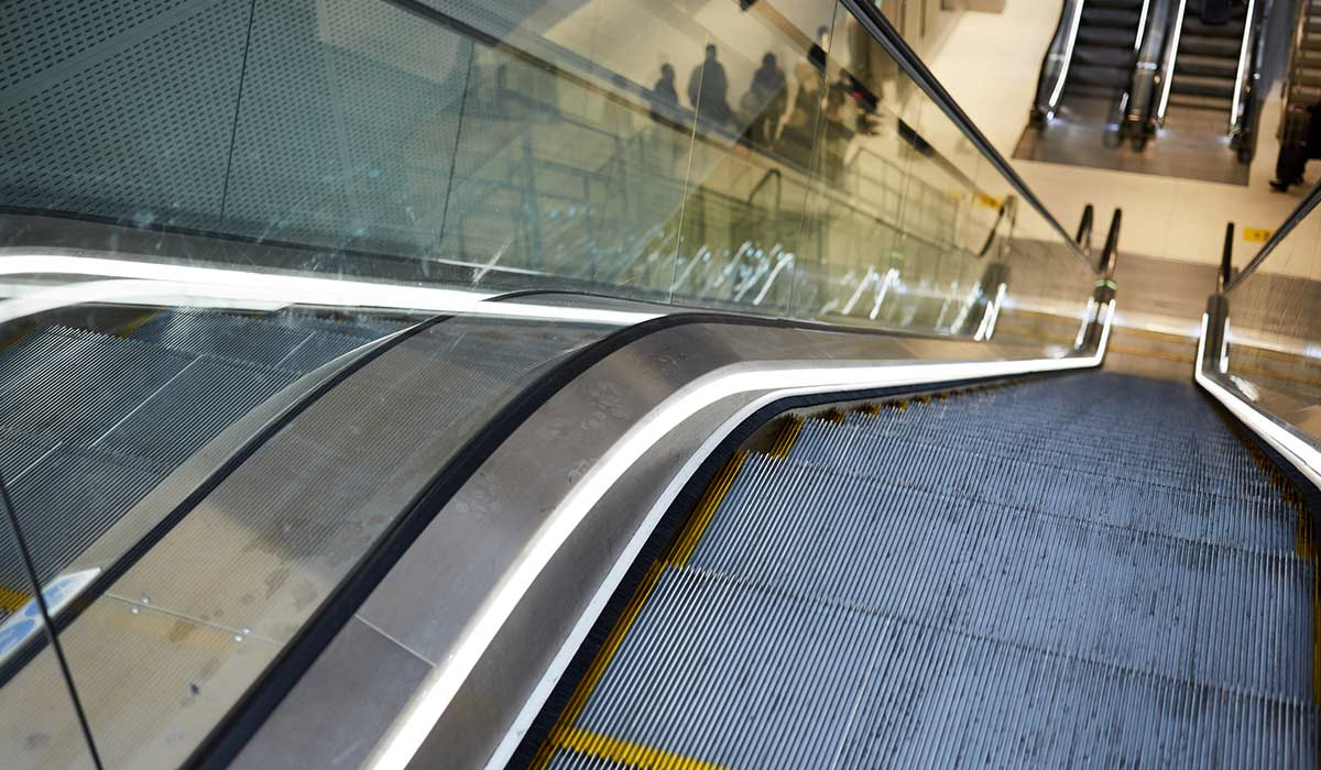 datos sobre las escaleras eléctricas
