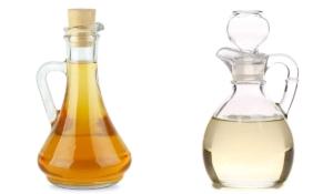diferencia entre vinagre de manzana y blanco