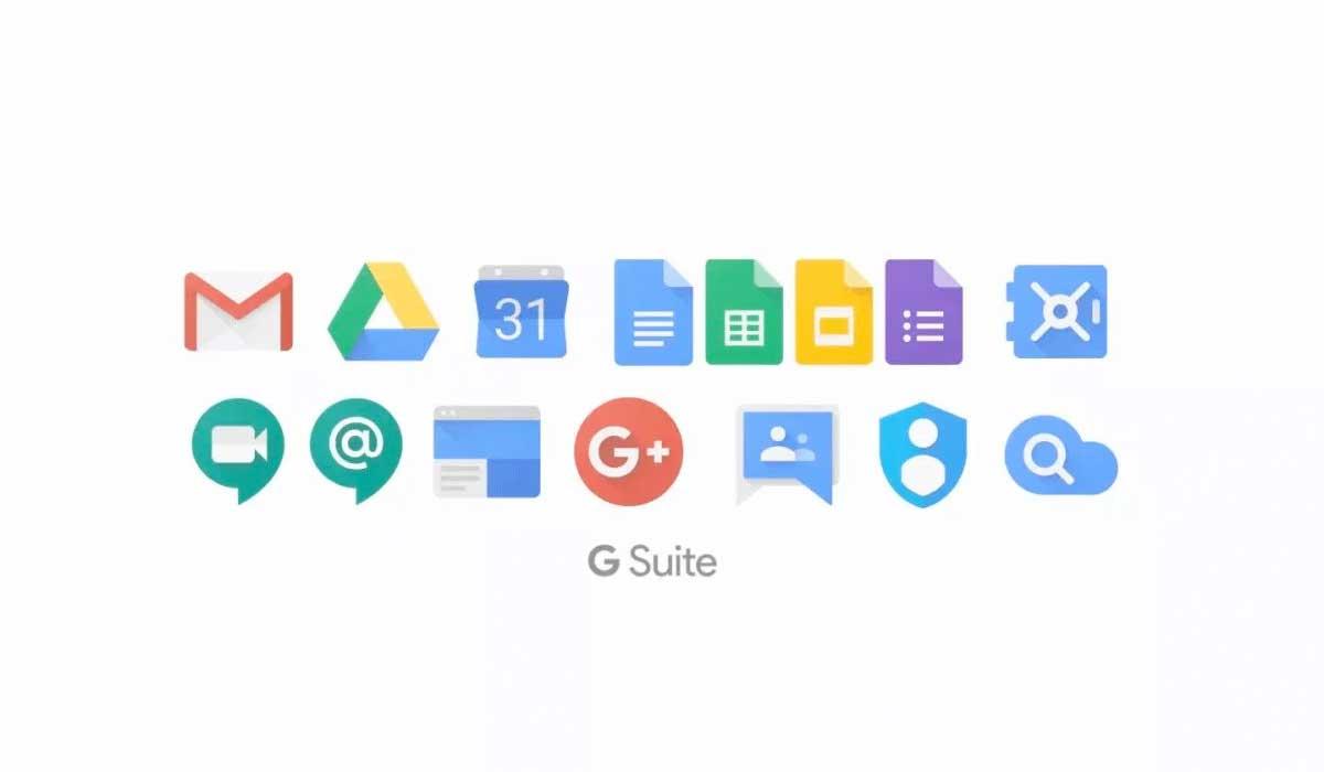 G suite de google