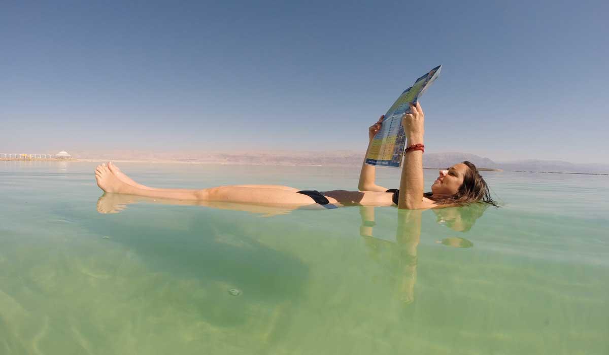 El Mar Muerto, un lugar lleno de curiosidades y rarezas