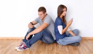 mensajes entre pareja