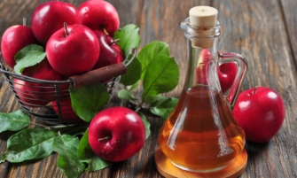 vinagre de manzana contra las manchas de la piel