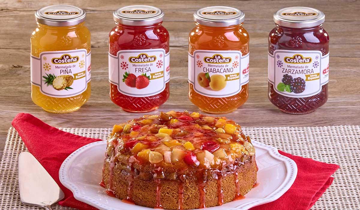 Aprende a hacer un pastel de frutas de manera sencilla