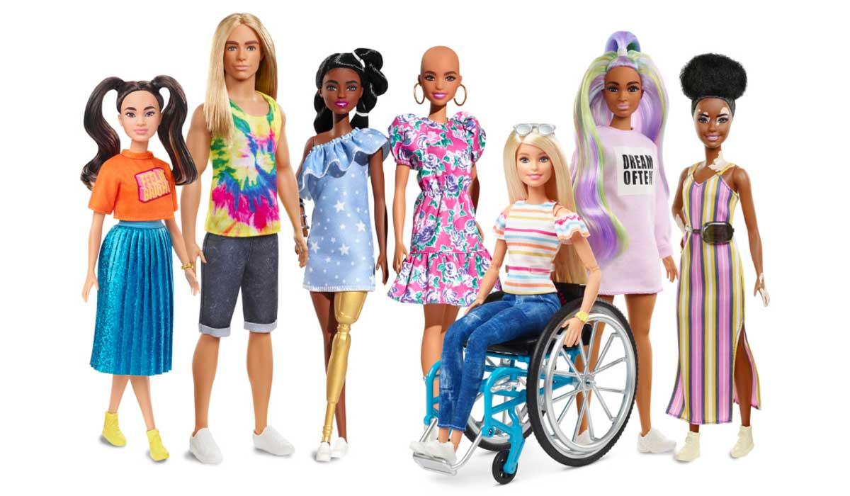 conoce la nueva línea de Barbie