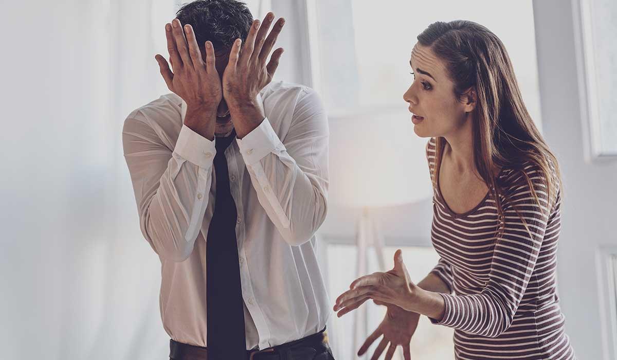 evita hacer esto después de una pelea con tu pareja