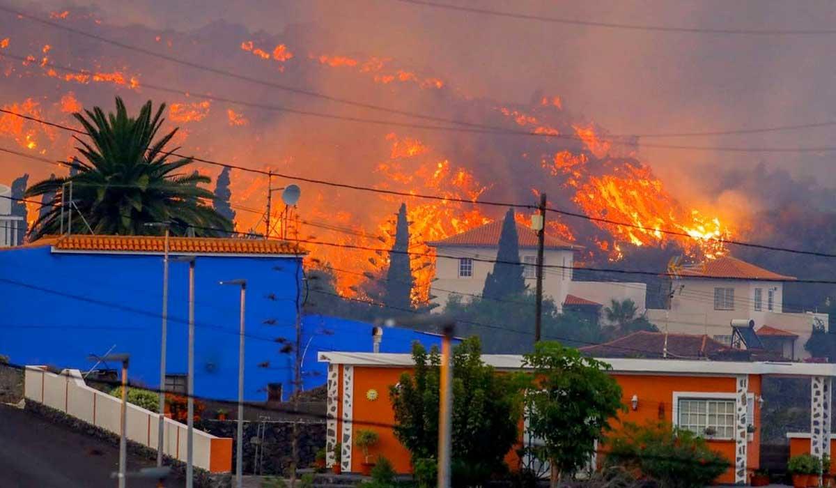 gran erupción del volcán en La Palma