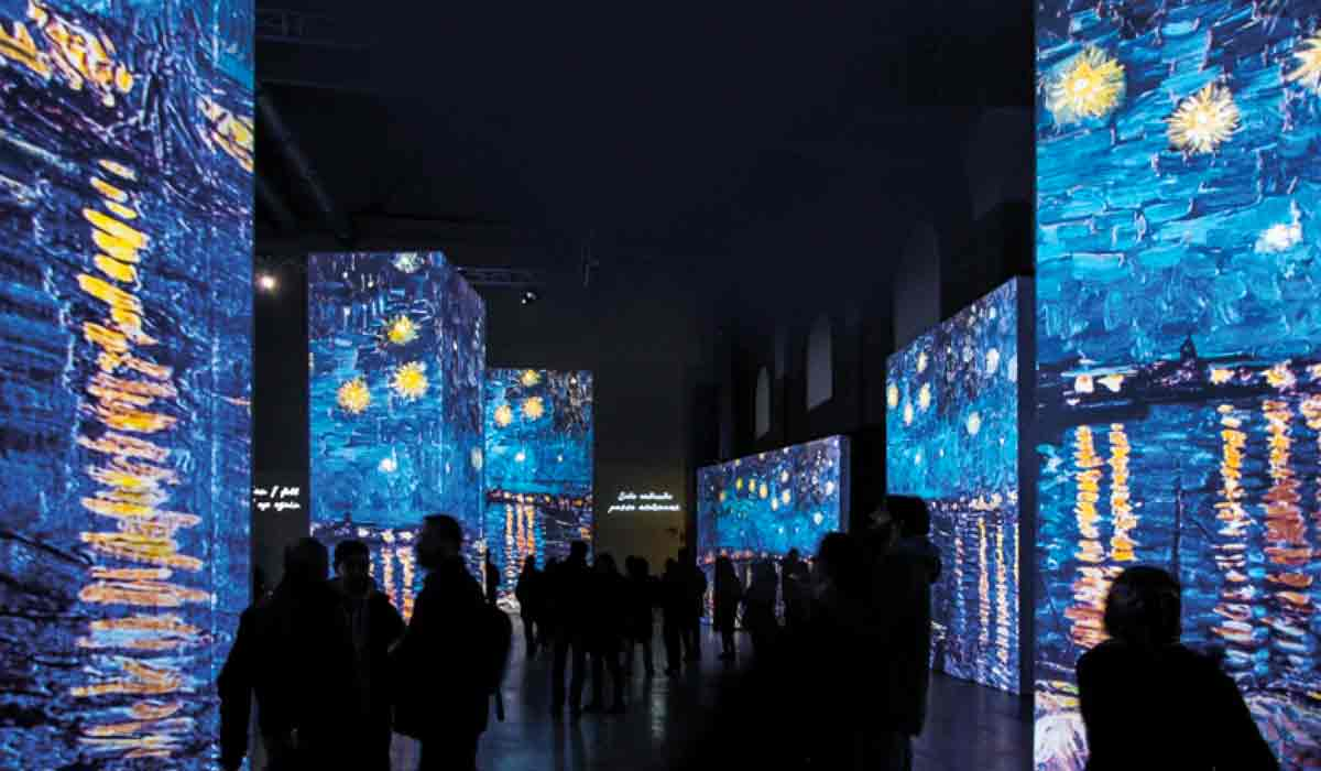 que puedes encontrar en la expo Van Gogh alive the Experience