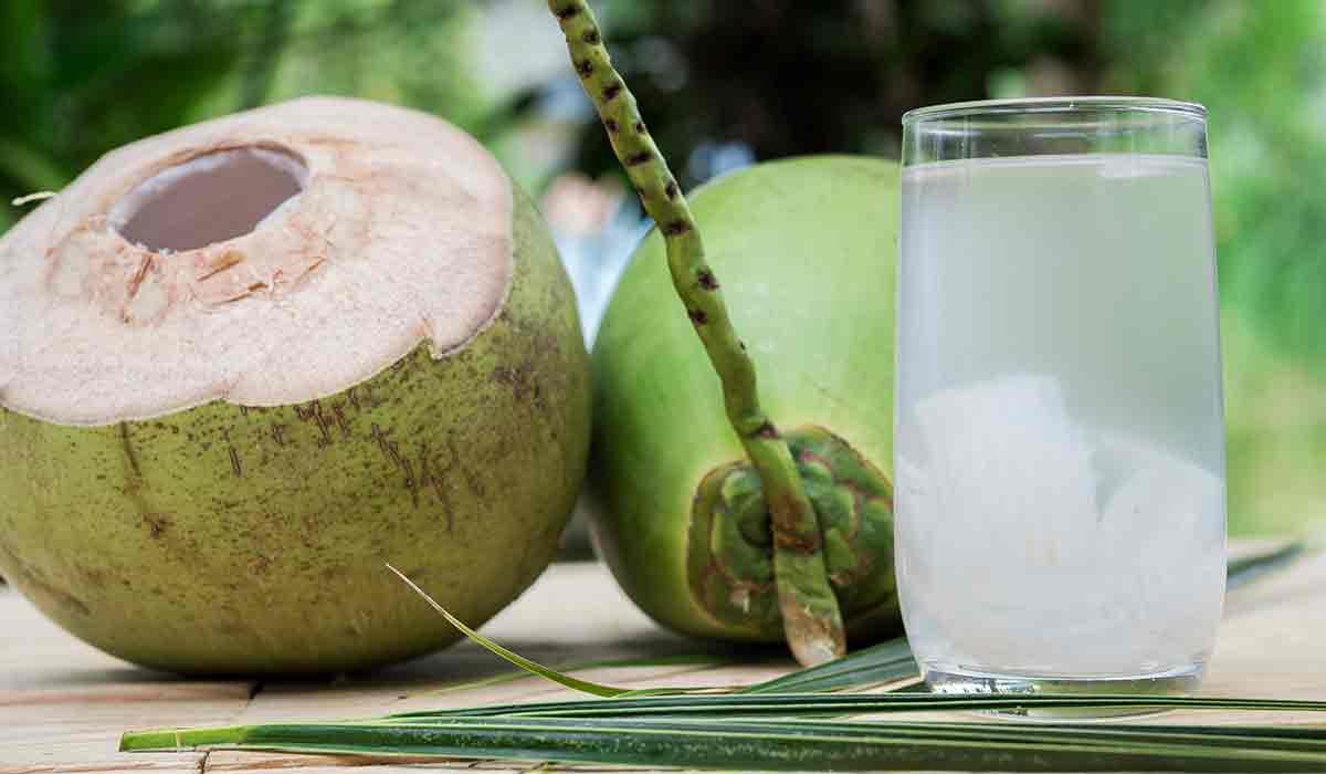 consume agua de coco