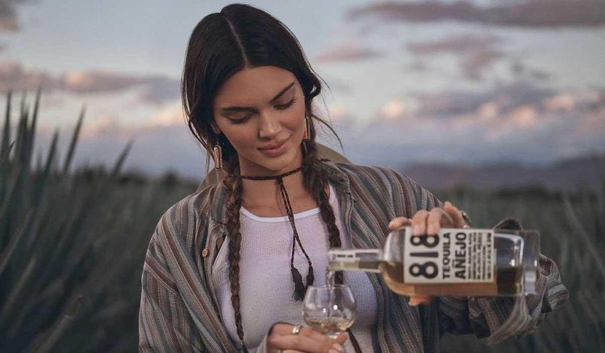 Kendall Jenner es criticada por su marca de tequila