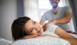 masaje antiestrés en pareja