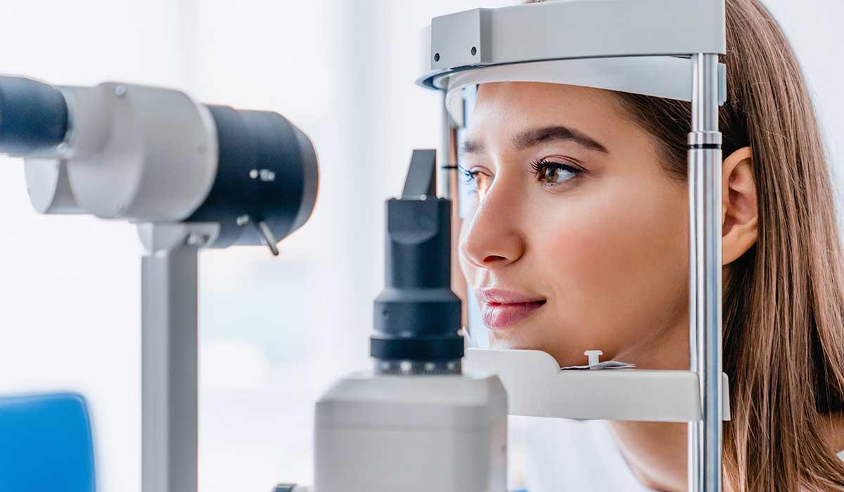 coronavirus se puede ver en los ojos