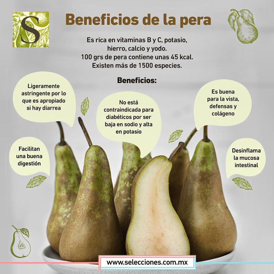 La pera facilita tu digestión