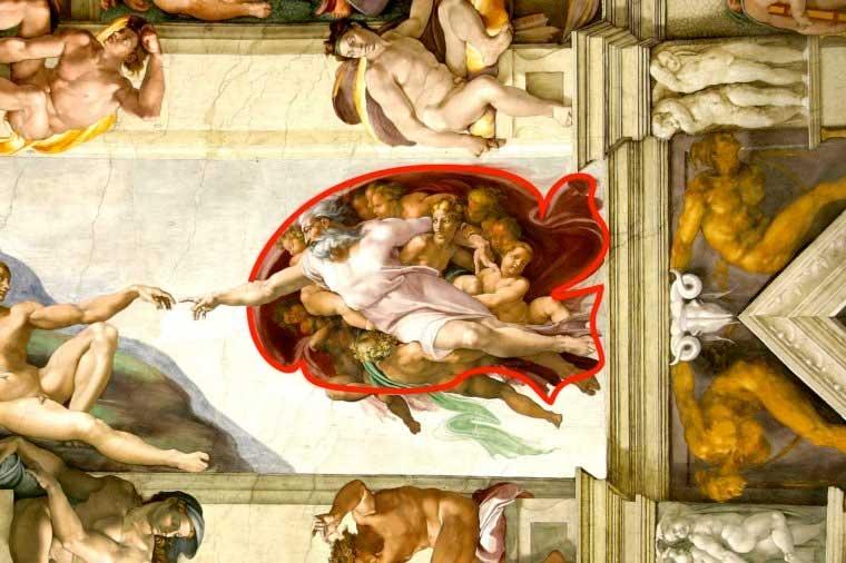 secretos en pinturas famosas