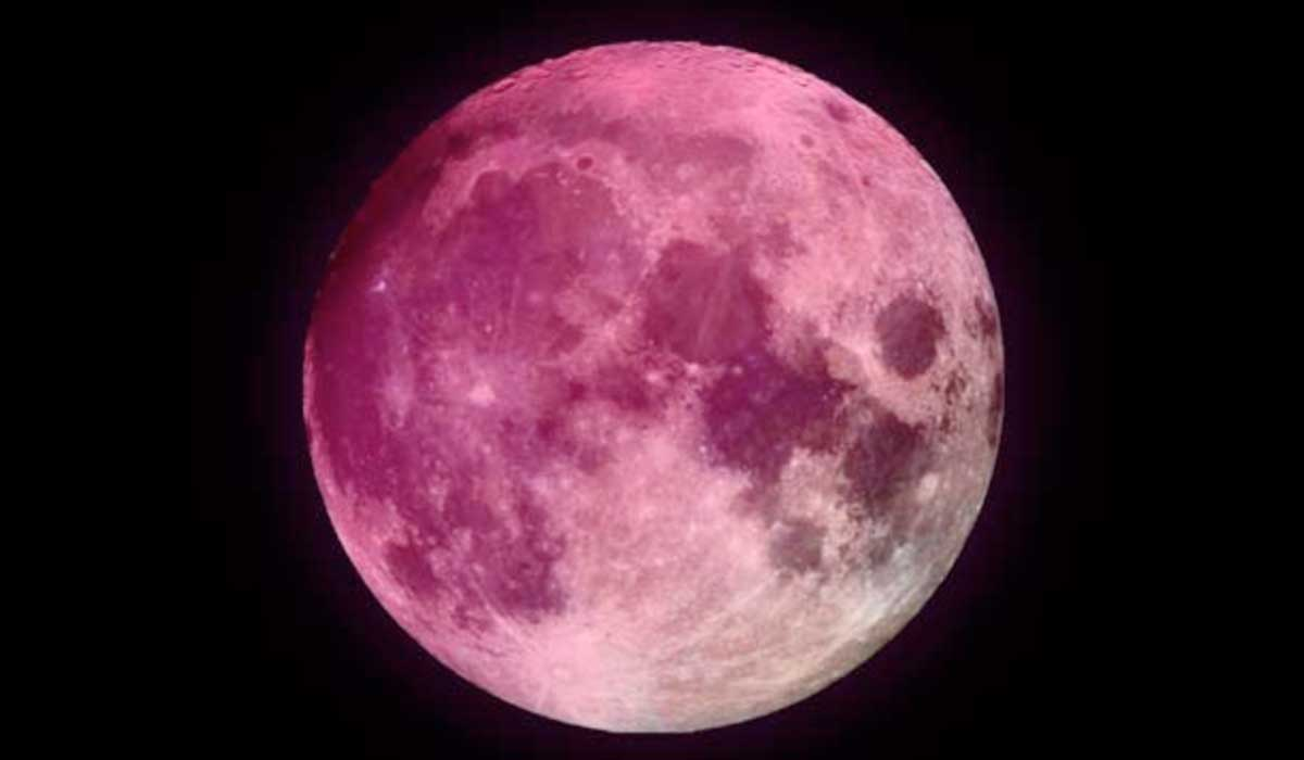 no te pierdas la super luna rosa