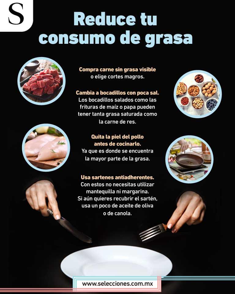 Mejora tu consumo de grasa