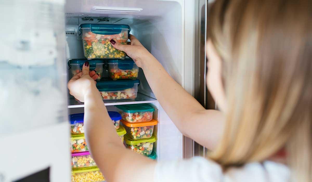 mentiras sobre los alimentos congelados