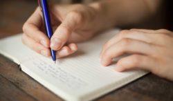 escribir mejorará tu estado de ánimo