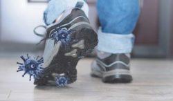 limpieza de zapatos por coronavirus