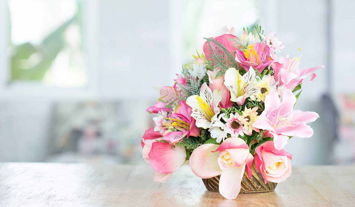 limpia tus flores con bicarbonato