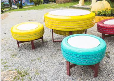Muebles con llantas
