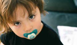 chupón en bebés