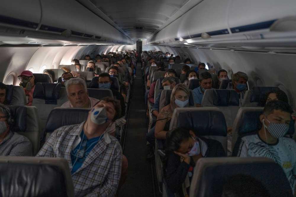 """así se vuela en avión en la """"nueva normalidad"""""""