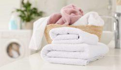 lavado regular de toallas por tu salud