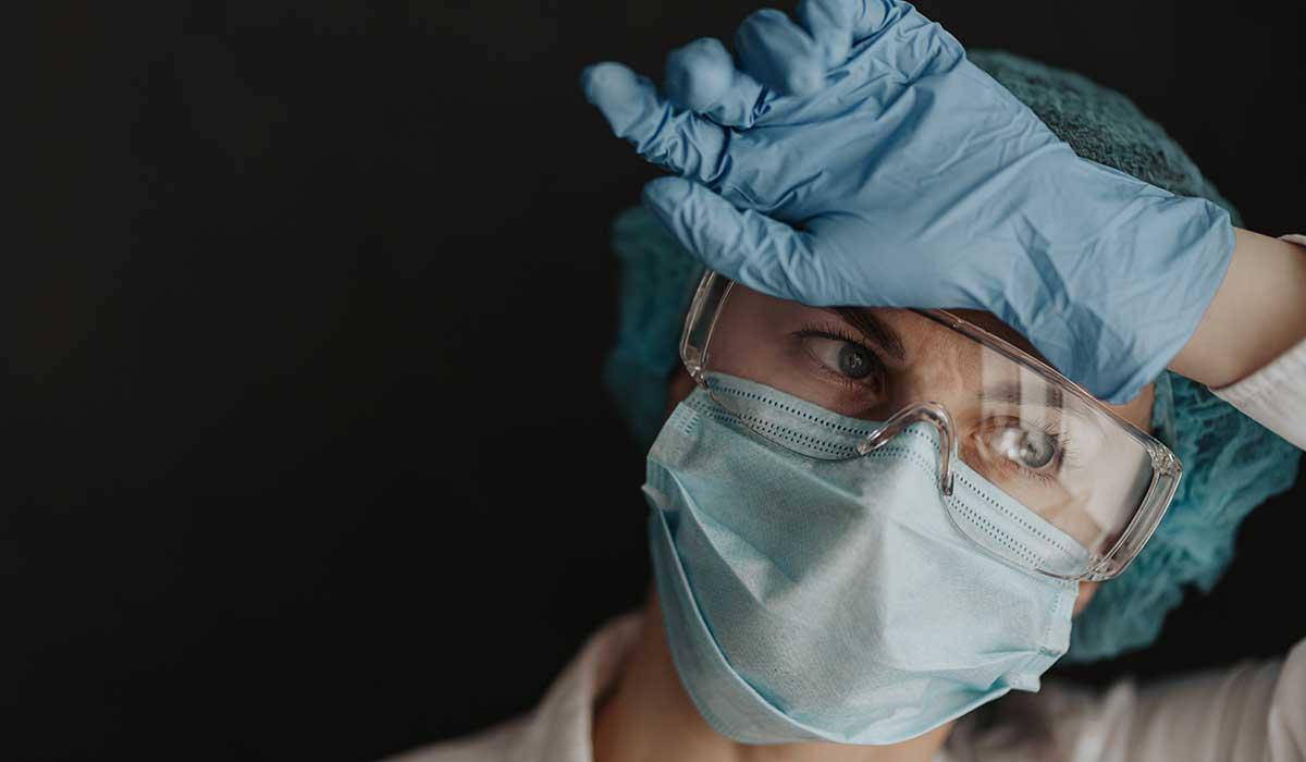Así salvan la vida del personal de salud en este hospital Covid-19