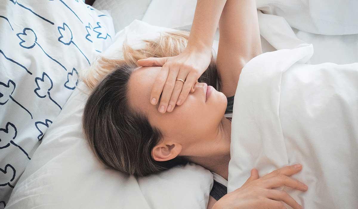tu sueño puede afectarse por estos hábitos
