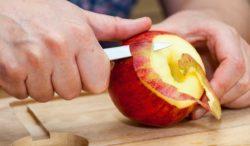 no desperdicies la cáscara de las manzanas