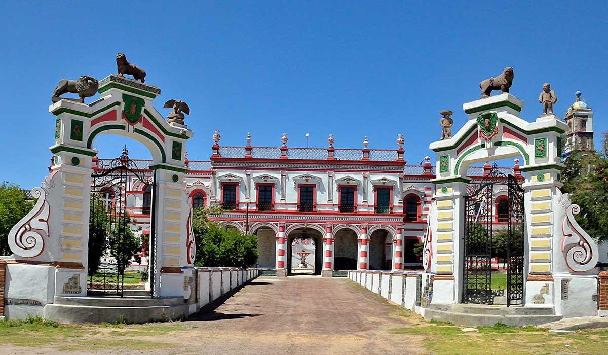 recorre esta hacienda en Tlaxcala
