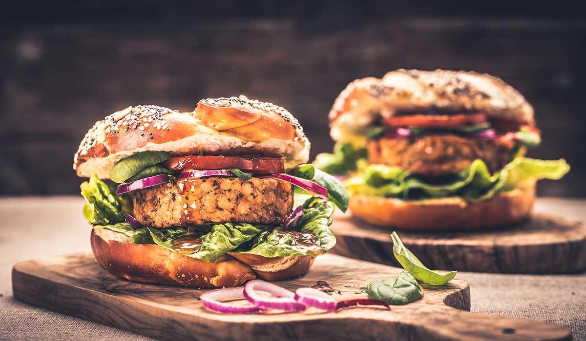 disfruta de unas hamburguesas de lentejas